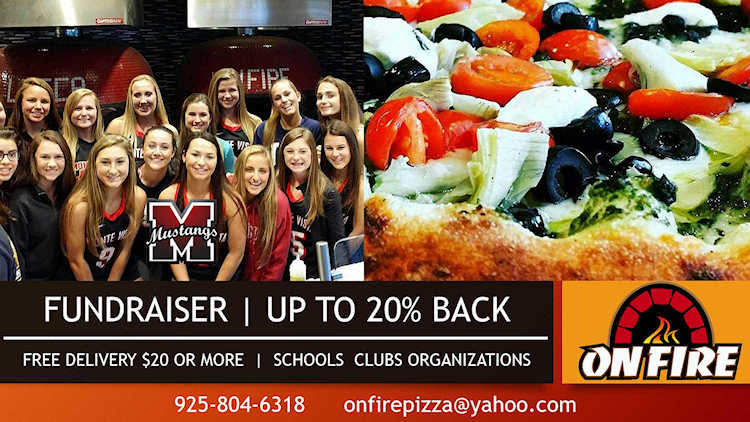 On Fire Pizza Fundraisers, Catering And Special Events